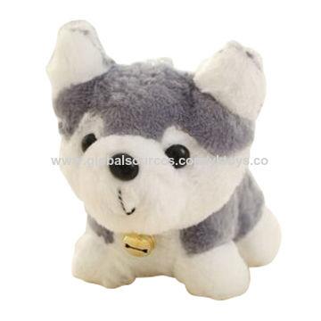 China Super Soft Cute Plush Husky Dog Plush Stuffed Toy On Global
