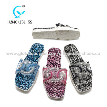 06f28f5e3c93 China China suppliers women footwear designs slippers custom slides shoes  for lady pearl sandals ...