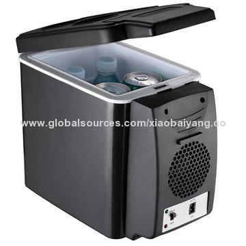 Car Small Refrigera Cooler or Warmer 12V 6L Dual-Use Refrigerator Insulin
