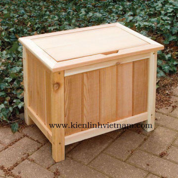 Garden Wooden Furniture Wooden Storage Box Cheap Price Outdoor