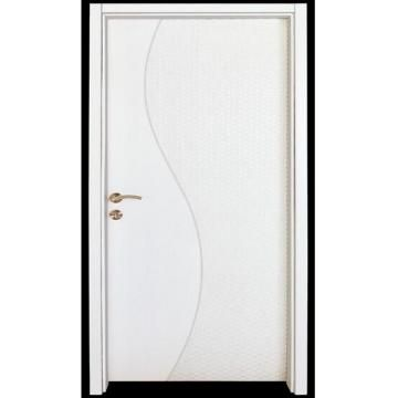 China White Paint Interior Door, Wooden Door, Solid Wood Door, Wood Door,