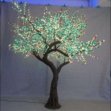 China New Design Green Led Simulation Tree Light With 62 50 000 Hours Lifespan