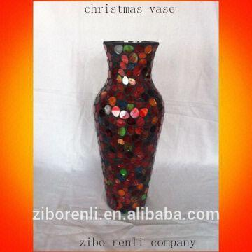 Christmas Vases 1lorredyellowbluegreen 2echristmas