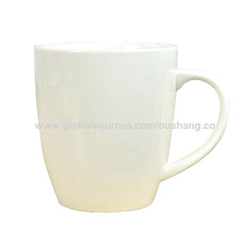 White ceramic sublimation blanks coffee cup | Global Sources