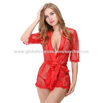 358ca19e8 China New design sexy women s nightwear lingerie babydolls on Global ...