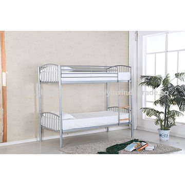 China High Quality Metal Steel Bunk Bed Frame Twin