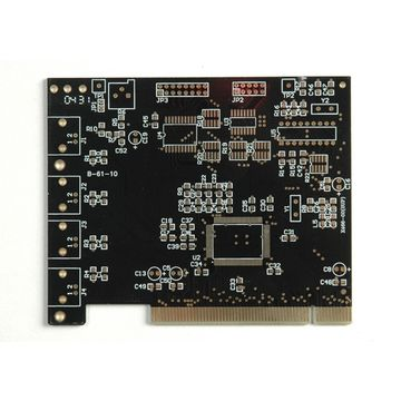 4L PCB with black solder mask