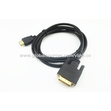 China HDMI to DVI Male Cable Assemblies from Dongguan Manufacturer ...