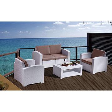 Outdoor Plastic Rattan Sofa China