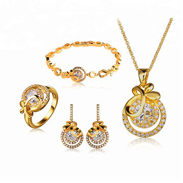 China Promotion high quality wedding jewelry set or hot sale