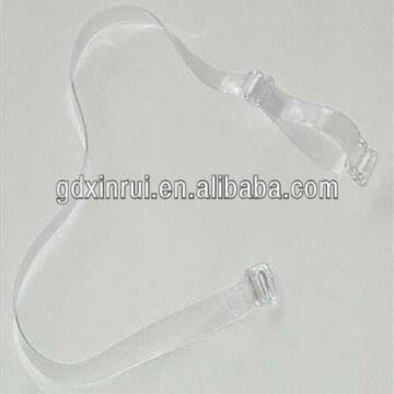 d8629eac21ea8 Invisible Tpu Clear Bra Straps with Clear Hook and Slider for Women ...