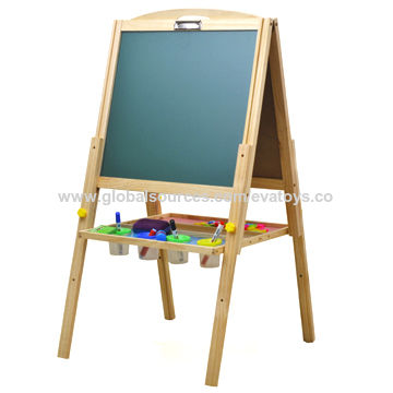china wooden stand drawing board toy for children measures 56 60 102cm on global sources. Black Bedroom Furniture Sets. Home Design Ideas