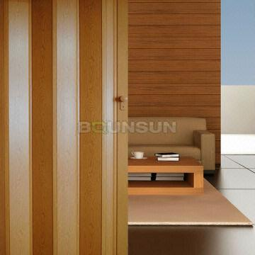 Plastic Folding Door 8mm thickness with rigid hinge   Global Sources