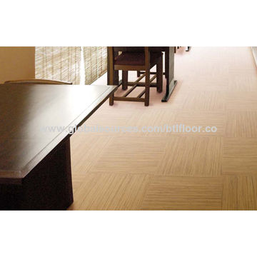 PVC Flooring Vinyl Floor Tiles With Carpet Tiles Effects For - Vinylboden für industrie
