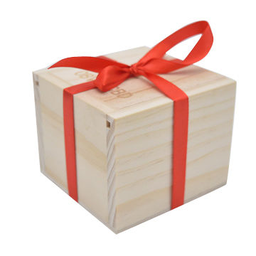 display box natural wood
