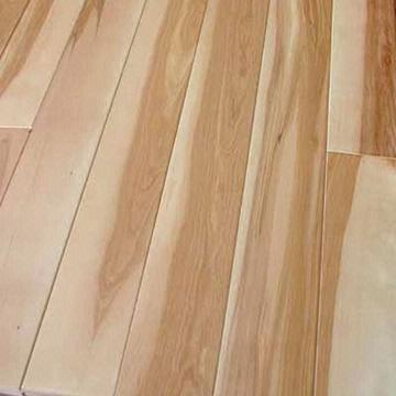 Solid Rustic Maple Wood Parquet Flooring China