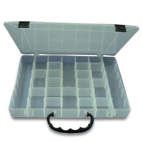 Taiwan 42 compartment Plastic Storage Box Measuring 31 x 225 x 4cm
