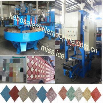 Kbjx Manufacturing Terrazzo Floor Tile Machine Kb 125e