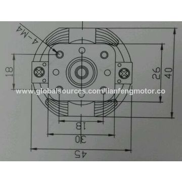 China AC Motors/hair dryer motor/mixer motor from Dongguan ... on