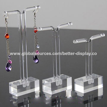 Luxury Acrylic Earring Display Stands China