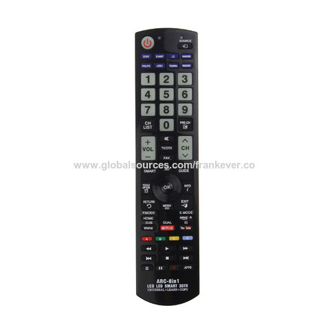 China Universal Remote Control, Codes TV Remote Controller on Global
