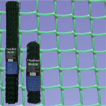 19mm Flexible Green Plastic Mesh Garden Netting Fence For Plant