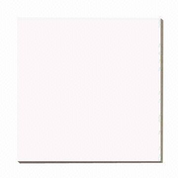 China Super White Pure Color Porcelain Polished Tiles