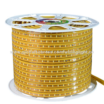 led rope lights high class 5630 led luxury gold fpcb super high