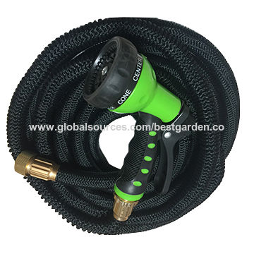 China 2016 new expandable garden hose with plastic 7-way hose ...