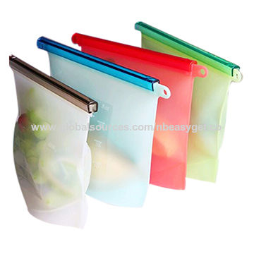 Reusable Silicone Food Storage Preservation Bags China
