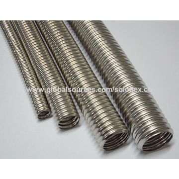 China Corrugated Stainless Steel Tubing for Water