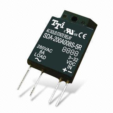 Solidstate Relay with SIP of IC Packing and DC Control AC