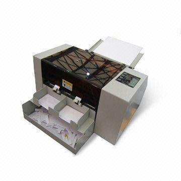 A4 Automatic Business Card Cutter with Name Card