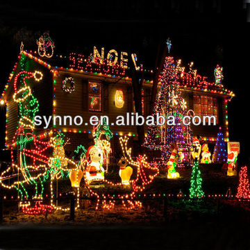 Christmas Lights On Houses Pictures.Ungrouped Led Houses Decorated Christmas Lights Global
