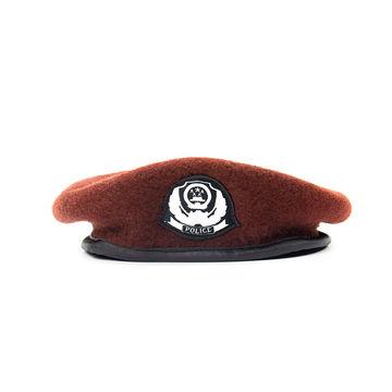 Latex beret /'Camo green/'