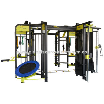 china 360 cross fit commercial gym equipment 8 station integrated