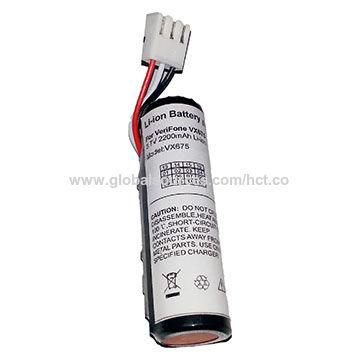China POS Battery for Ingenico IWL220/IWL250, 2,600mAh Capacity on