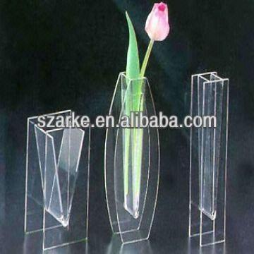 Transparent Elegant Acrylic Vaseflower Vase Global Sources