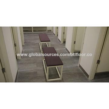 Vinyl Planks PVC Flooring With Low Water Absorption For Cloth Shop - Vinylboden für industrie