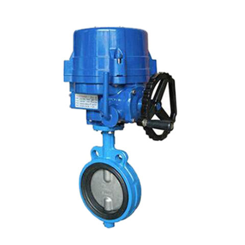 China Wafer Butterfly Valve, Electric Actuator on Global Sources
