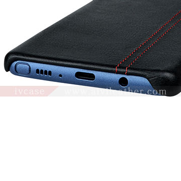 China Luxury Full Cover Back Leather Case for Samsung Galaxy Note 8