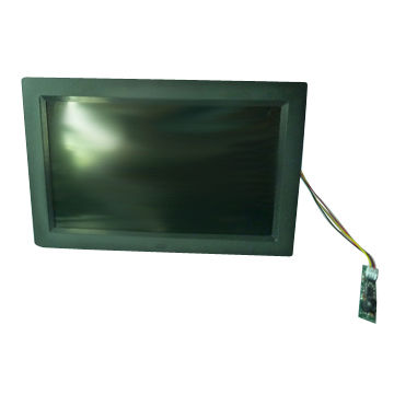China 9-inch motion sensor digital photo frame with battery pack ...