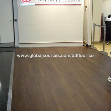 PVC Flooring Vinyl Flooring Tile With Stain Resistance For Bank - Vinylboden für industrie