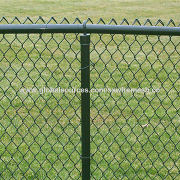 China Chain Link Mesh Fence Best Price Factory Supply Diamond