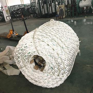 8 strand polypropylene mooring rope 72mm | Global Sources