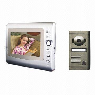 7 Inch Color Video Door Phone Intercom System Many Kinds Of Outdoor