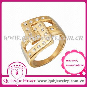 316l Ring Gold Ring Designs for Men New Design Gold Finger Ring