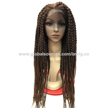 China Highest Quality Toyokalon Box Braids Wig Havana Twist