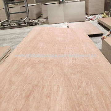 Wbp 12mm Thickness Bamboo Veneer Plywood for Bridge and Construction
