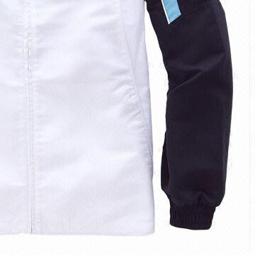 China Men's Tracksuit, Made of Polyester with Lining in Navy and White, Custom Logos/Labels/Sizes/Colors